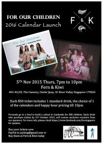 FOC Calendar launch poster